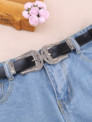 Mina – Twice Double Buckle Belt (1)
