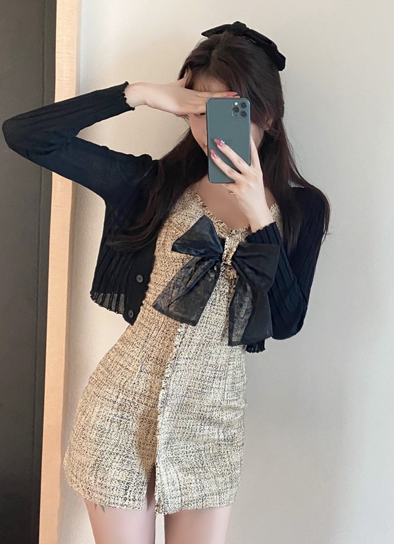 Tweed Bow Dress | Minnie – (G)I-DLE