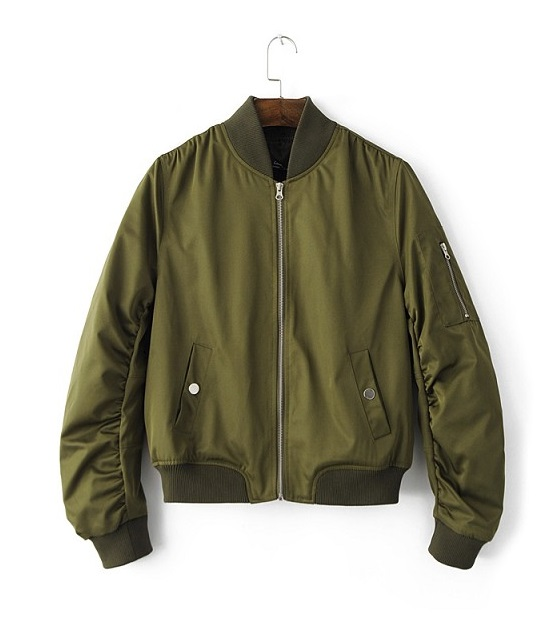 Navy Green Bomber Jocket | Sa Hye-Jun – Record Of Youth