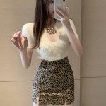 Fluffy White Chained Top | Hwasa – Mamamoo