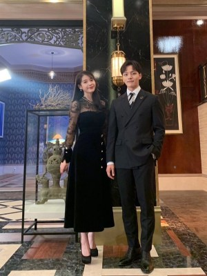 Black Velvet Lace Dress | IU – Hotel Del Luna