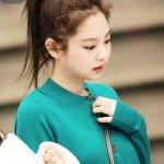 Fox Green Knit Cardigan | Jennie – BlackPink