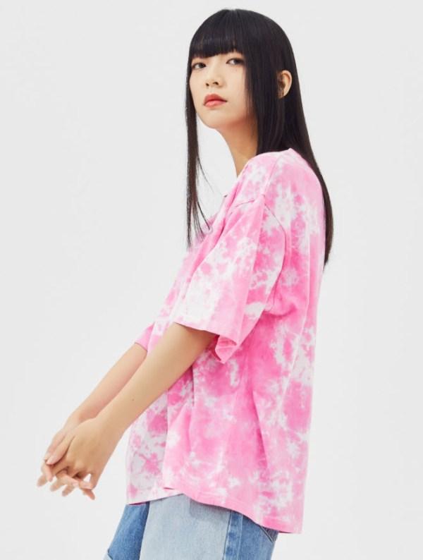 Pink Tie Dye T-Shirt | Jinyoung – GOT7
