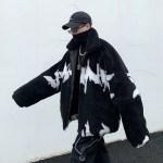 Black Fleece Jacket | Jisung – Stray Kids