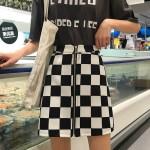 Checkerboard A-Line Skirt | Lia – ITZY
