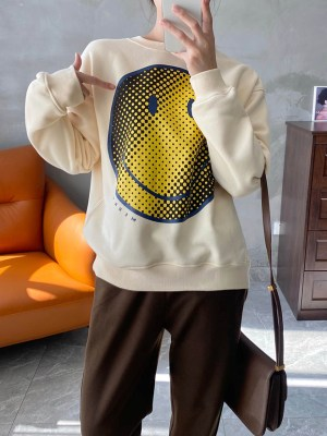 RM – BTS Smiley Printed Sweatshirt (2)