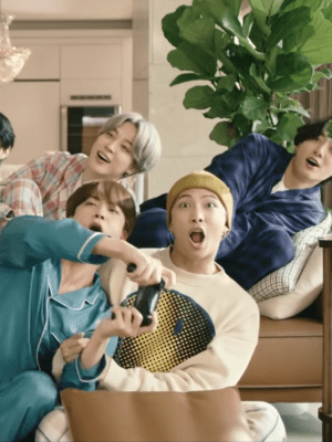 Smiley Printed Sweatshirt | RM – BTS