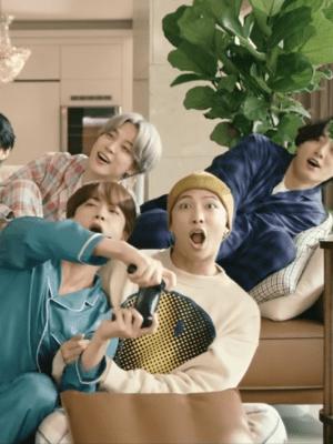 Smiley Printed Sweatshirt | RM – BTS