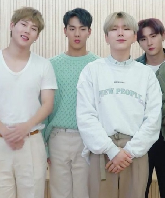Mint Green Sweater | Shownu – MONSTA X