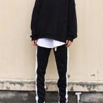 Black Track Pants With Zipper | Suga – BTS