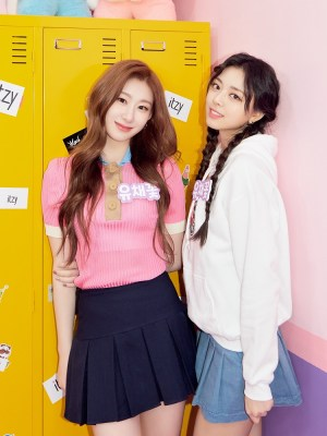 Pink Colorblock Polo Shirt | Chaeryeong – ITZY