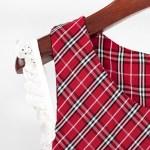 Red Checkered Sleeveless Dress | Hyuna