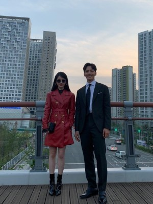 Red Leather Coat | IU – Hotel Del Luna