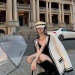 White Woolen Suit Jacket | Seo Dan Ah – Run On