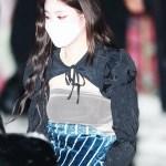 Black Puffed Sleeve Shawl Top | Soojin – (G)I-DLE