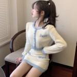 Fluffy Knitted Crop Cardigan | Soojin – (G)I-DLE