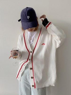 Yuqi – (G)I-DLE Happy Day Knitted Cardigan (8)