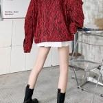 Zebra Print Red Collared Jacket | Baekhyun – EXO