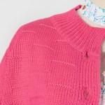 Pink Knitted Cardigan   Hyuna