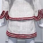 White Retro Tweed Skirt | Jennie – BlackPink