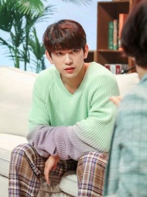 Oversized Gradient Knit Sweater | Jinyoung – GOT7
