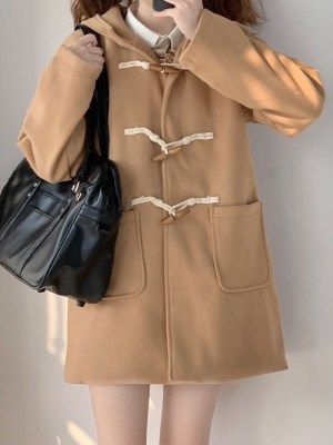 Lim Joo Kyung – True Beauty Khaki Hooded Coat (11)
