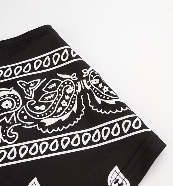 Black Bandana Cropped Top | Miyeon – (G)I-DLE