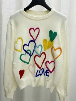 Xiumin – EXO – Love Embroidered Sweater (12)