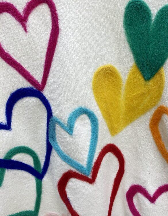 Love Embroidered Sweatshirt   Xiumin – EXO