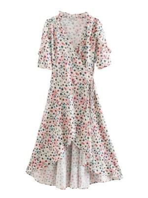 Yoon Se Ri – Crash Landing On You Floral Wrap Dress (12)
