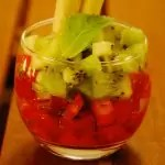 Salade fraises-kiwis