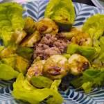 Salade argentine (avocat/thon/banane)