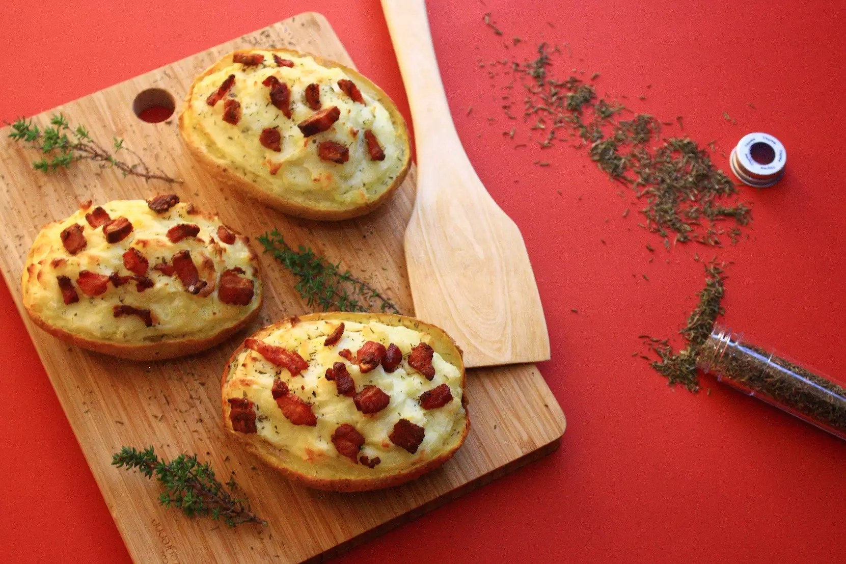 Twice baked potatoes - Conservation pommes de terre cuites ...
