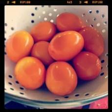 Astuce oeufs durs jaunes 300x300 Le point sur les œufs   Trucs, astuces et cuisson des œufs en vidéo