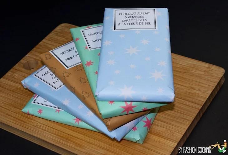 Fabulous DIY Tablettes de chocolat maison comme les Mast brothers - Cadeau  VM02