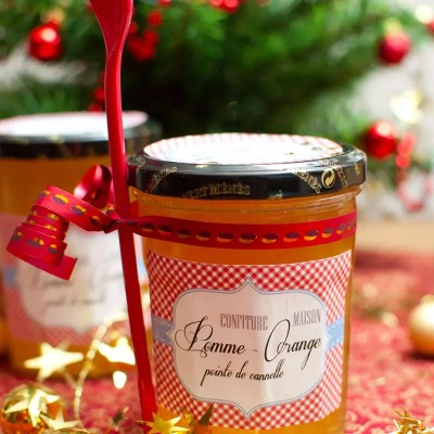 Confiture pomme-orange