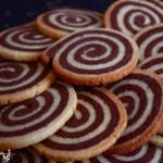 sables spirale vanille chocolat 150x150 Recettes de Noël, de fêtes et cadeaux gourmands