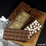 tablettes chocolat maison amandes sucre petillant chamallows 150x150 Recettes de Noël, de fêtes et cadeaux gourmands