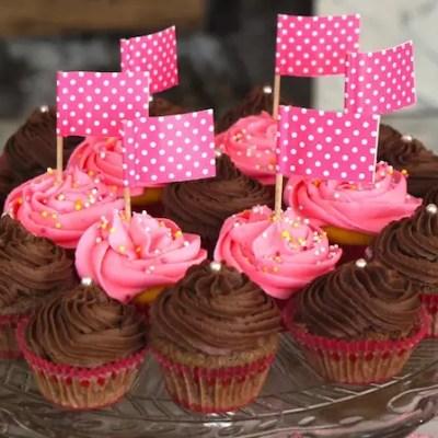 Cupcakes tout chocolat & cookies trois chocolats