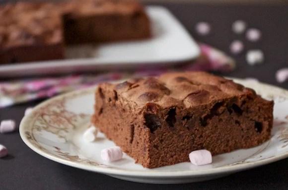 Gâteau au chocolat d'AnneSO à la fleur d'oranger