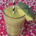 Smoothie ananas-citron vert-menthe