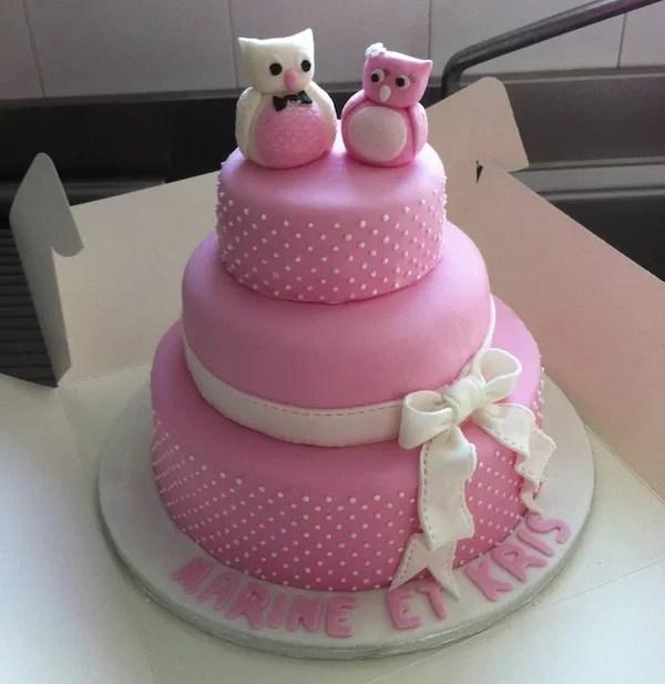 Taille Boite Gateau Wedding Cake