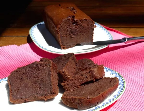 fondant au chocolat allégé