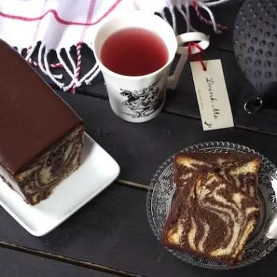 La recette secrète du parfait cake marbré de François Perret