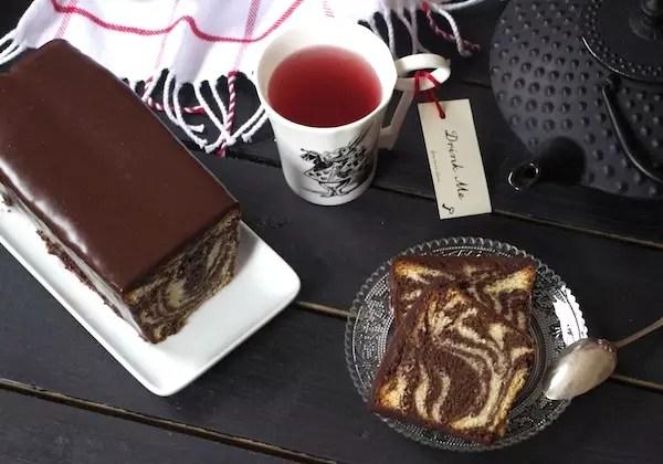 cake marbre francois perret Teatime au Shangri La Cake marbré cacao vanille de François Perret