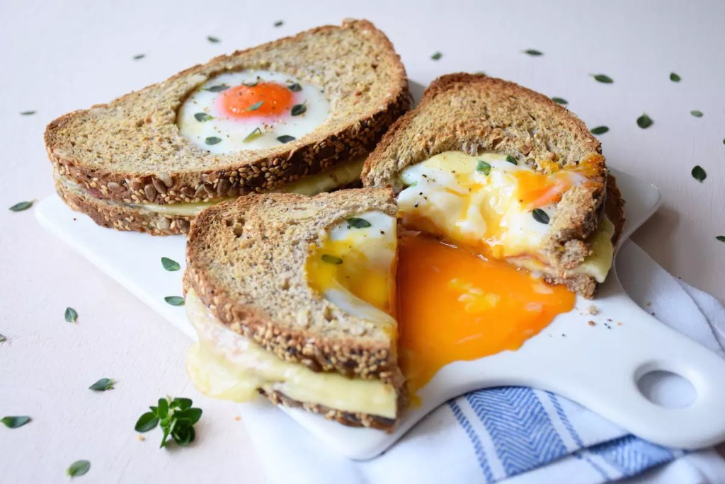 croque madame trou