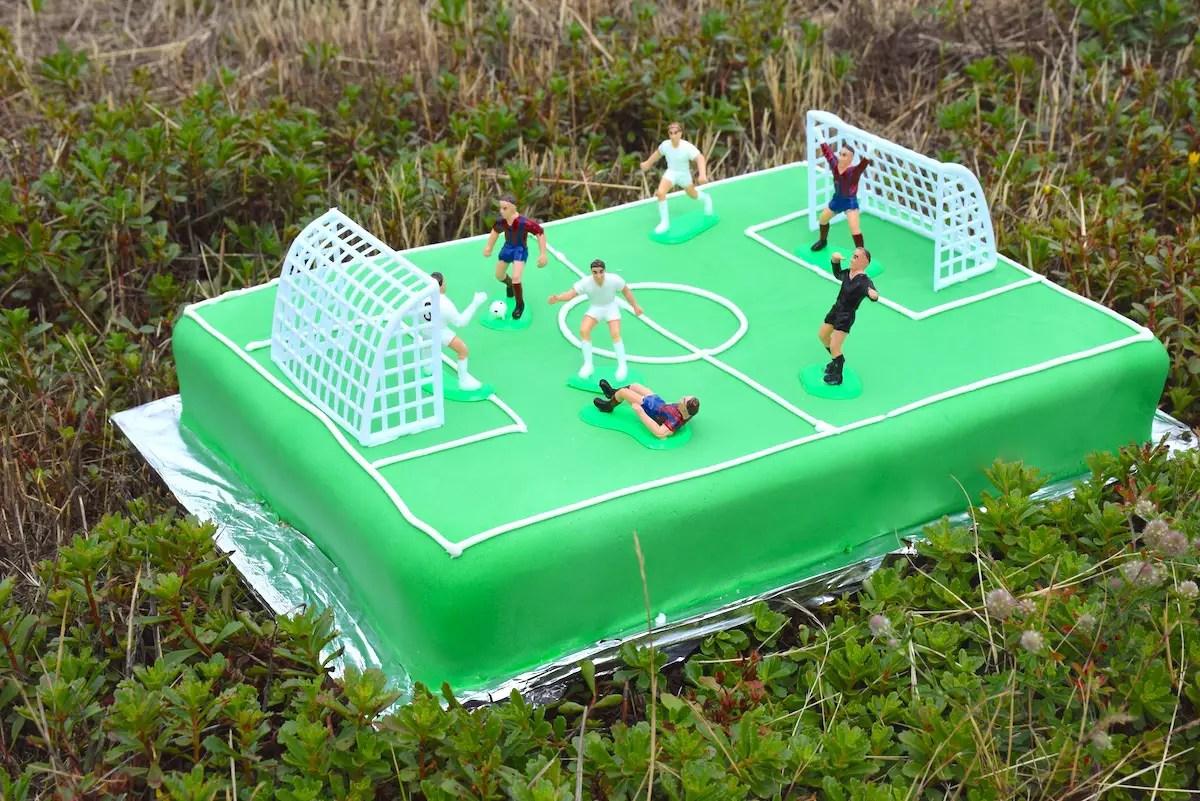 gâteau foot