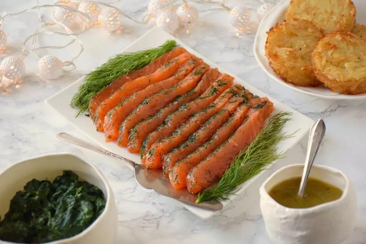 parfait saumon gravlax saumon frais marin l 39 aneth fashioncooking. Black Bedroom Furniture Sets. Home Design Ideas
