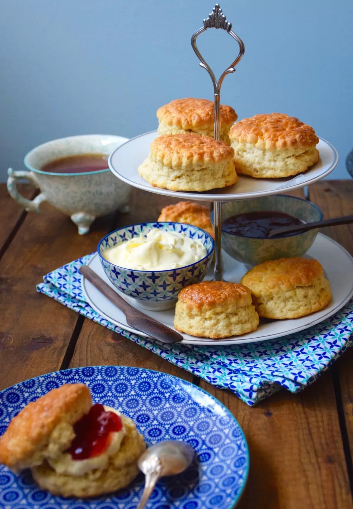 English scones for tea