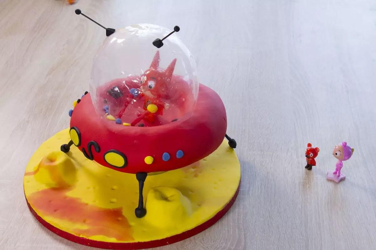 Gâteau Samsam vaisseau